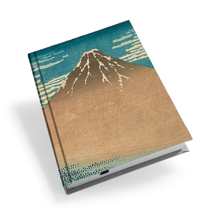 Mount Fuji in Clear Weather Hardback Journal<br>(Pack of 5)