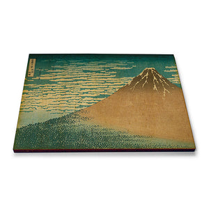 Mount Fuji in Clear Weather Wooden Postcard<br>(Pack of 10)