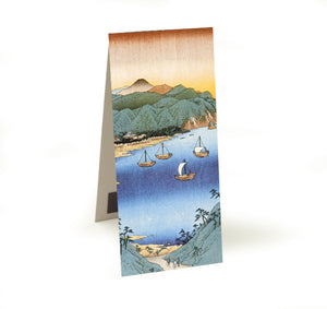 Small Port and Inlet at Awa Province Magnetic Bookmark<br>(Pack of 20)
