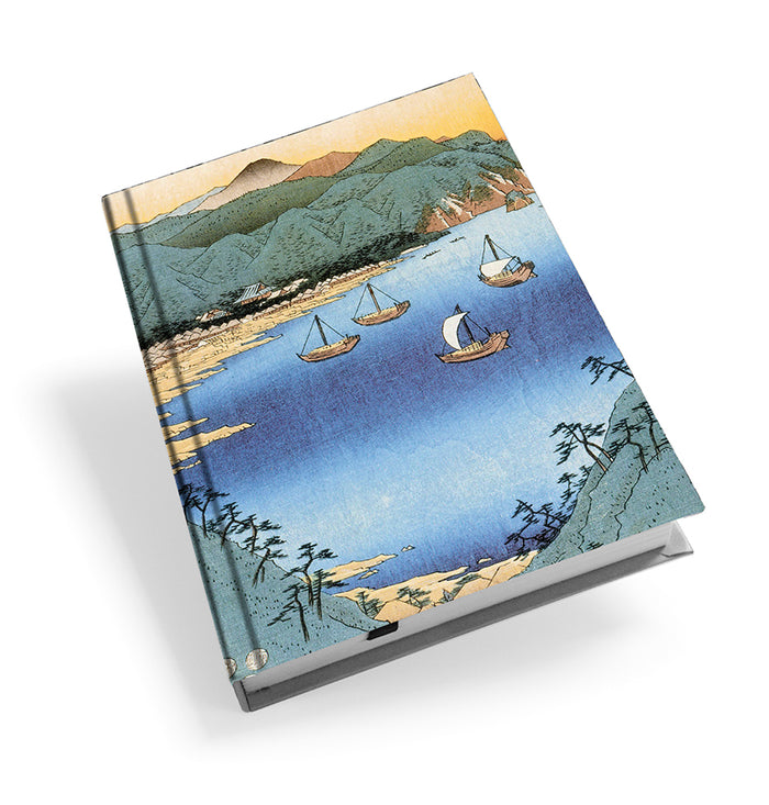Small Port and Inlet at Awa Province Hardback Journal<br>(Pack of 5)