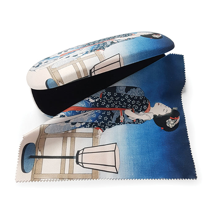 Maiko Admiring the Moon Glasses Case and Lens Cloth<br>(Pack of 5)