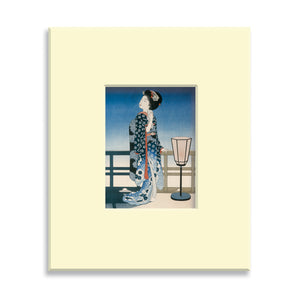 Maiko Admiring the Moon - Mounted print (Pack of 5)