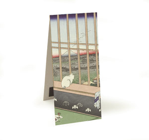 Asakusa Ricefields and Torinomachi Festival, No. 101 from One Hundred Famous Views of Edo Magnetic Bookmark<br>(Pack of 20)