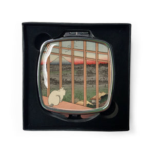 Asakusa Ricefields and Torinomachi Festival, No. 101 from One Hundred Famous Views of Edo - Compact Mirror<br>(Pack of 5)