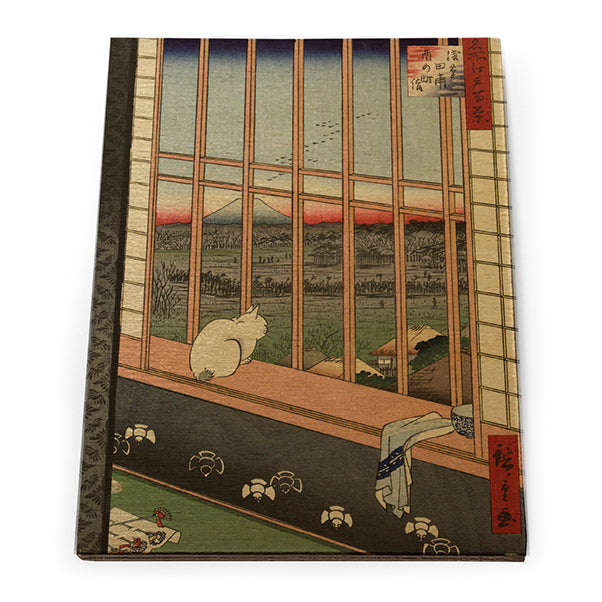 Asakusa Ricefields and Torinomachi Festival, No. 101 from One Hundred Famous Views of Edo Wooden Postcard<br>(Pack of 10)