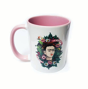 Frida Kahlo Flowers Mug<br>(Pack of 6)
