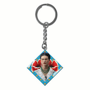 Frida Kahlo Rebel Enamel Keyring<br>(Pack of 10)