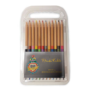 Frida Kahlo Unique Heart - Duo Colouring Pencils<br>(Pack of 10)
