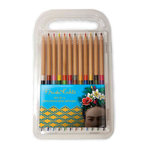Frida Kahlo Frida Face - Duo Colouring Pencils<br>(Pack of 10)
