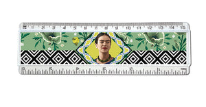 Frida Kahlo Green Floral - Ruler<br>(Pack of 10)