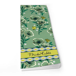 Frida Kahlo Green Floral - Shopper Pad<br>(Pack of 10)