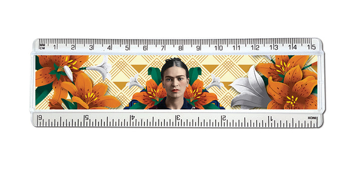 Frida Kahlo Orange Floral - Ruler<br>(Pack of 10)