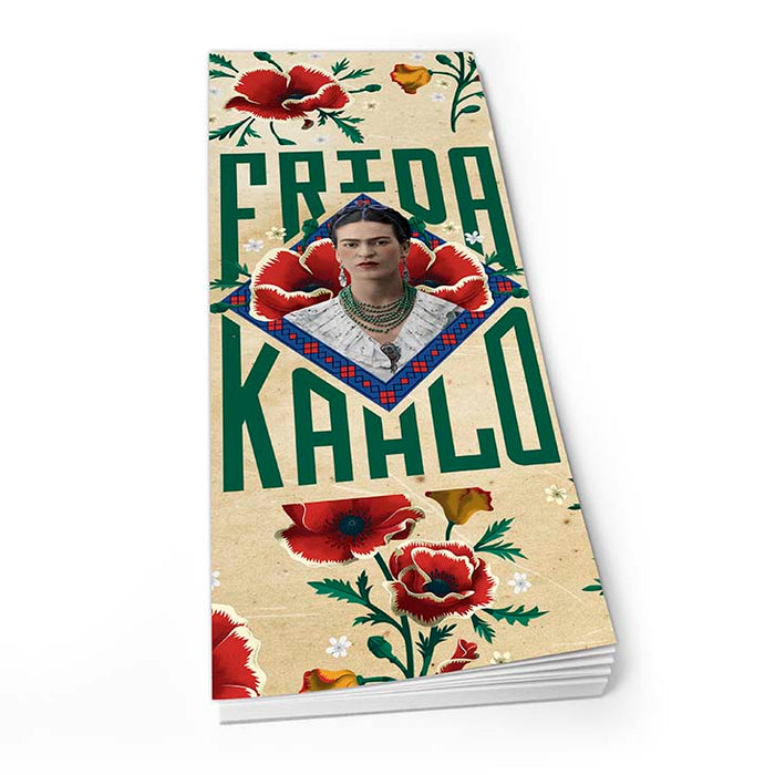 Frida Kahlo Red Poppies - Shopper Pad<br>(Pack of 10)