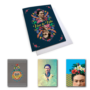 Frida Kahlo Mixed Set 1 Notecard Set (Pack of 5)