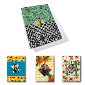Frida Kahlo Mixed Set 2 Notecard Set (Pack of 5)