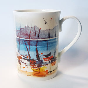 Boats Ashore Mug<br>(Pack of 6)