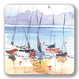 Boats Ashore Coaster<br>(Pack of 10)