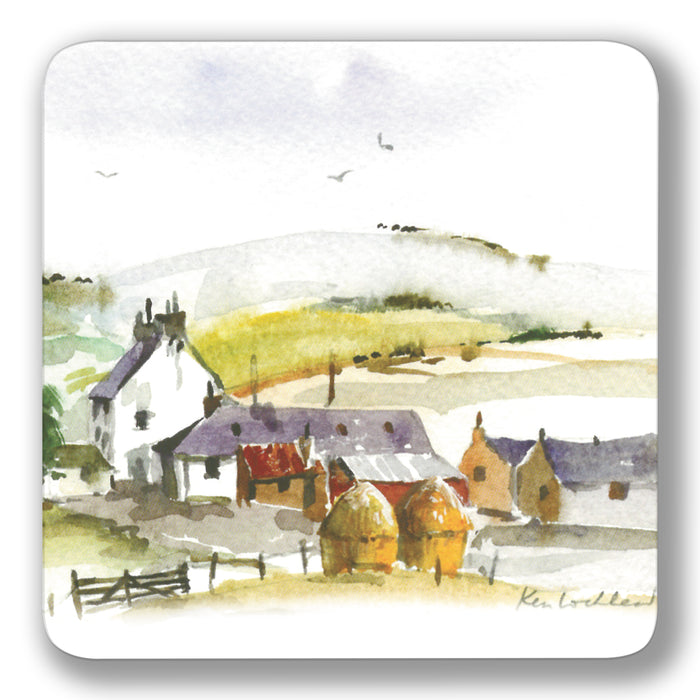 Borders Farm Coaster<br>(Pack of 10)