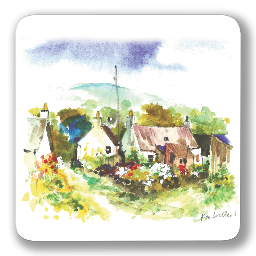 Cottage Garden Coaster<br>(Pack of 10)