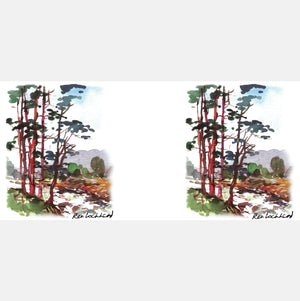 Scots Pines Mug<br>(Pack of 6)