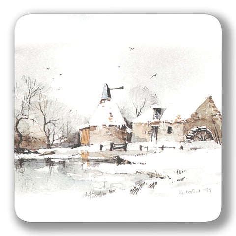 Winter Mill Coaster<br>(Pack of 10)