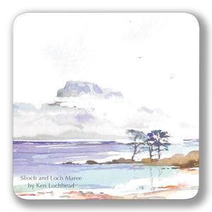 Slioch and Loch Maree Coaster<br>(Pack of 10)