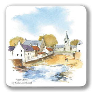 Anstruther Coaster<br>(Pack of 10)