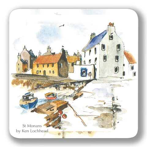 St Monans Coaster<br>(Pack of 10)