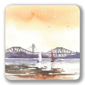 Forth Bridges Coaster<br>(Pack of 10)