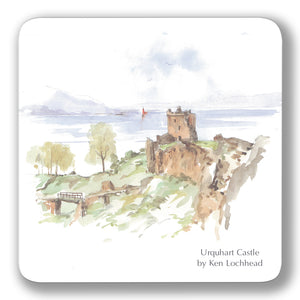 Urquhart Castle Coaster<br>(Pack of 10)