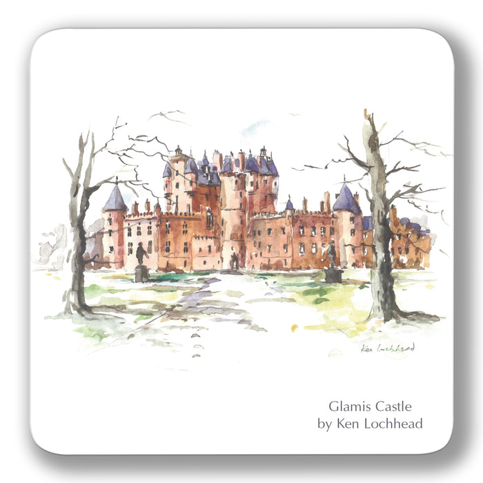 Glamis Castle Coaster<br>(Pack of 10)