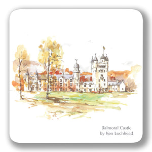 Balmoral Castle Coaster<br>(Pack of 10)