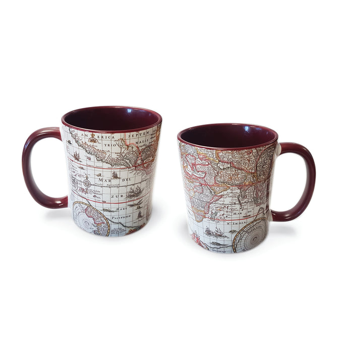 Map of the World Mug<br>(Pack of 6)