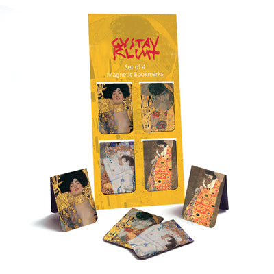 Klimt Set of 4  Magnetic Bookmark<br>(Pack of 20)