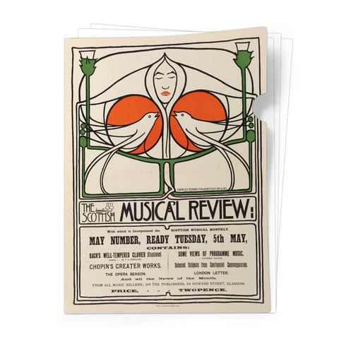 Musical Review - Document Folder<br>(Pack of 10)