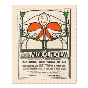 Musical Review Lens Cloth<br>(Pack of 10)
