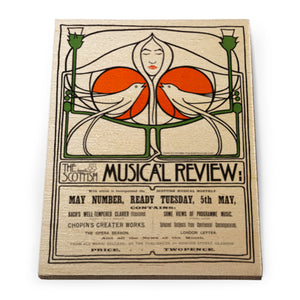Musical Review Wooden Fridge Magnet<br>(Pack of 10)