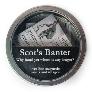 Scot's Banter Magnetic Words Set<br>(Pack of 5)