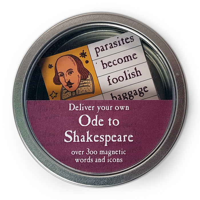 Shakespeare Magnetic Words Set<br>(Pack of 5)