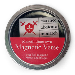 Kings and Queens Magnetic Words Set<br>(Pack of 5)