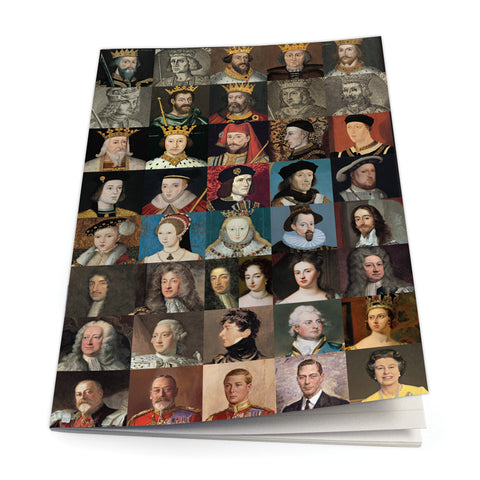 KINGS AND QUEENS Exercise Book<br>(Pack of 10)