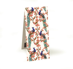 Oriental Peacock Magnetic Bookmark<br>(Pack of 20)