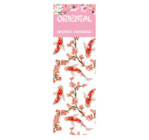 Oriental Koi Magnetic Bookmark<br>(Pack of 20)