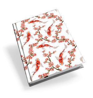 Oriental Koi Hardback Journal<br>(Pack of 5)