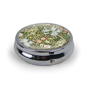 Golden Lily Pattern Pill Box<br>(Pack of 5)