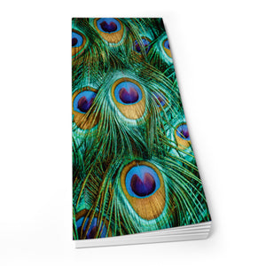 Peacock Feathers - Shopper Pad<br>(Pack of 10)