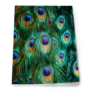 Peacock Feathers - Notepad<br>(Pack of 10)