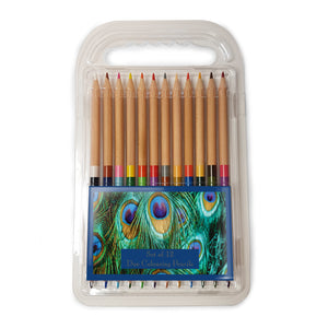 Peacock Feathers - Duo Colouring Pencils<br>(Pack of 10)