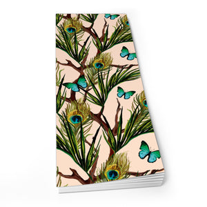 Peacocks and Butterflies - Shopper Pad<br>(Pack of 10)