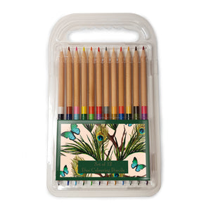 Peacocks and Butterflies - Duo Colouring Pencils<br>(Pack of 10)